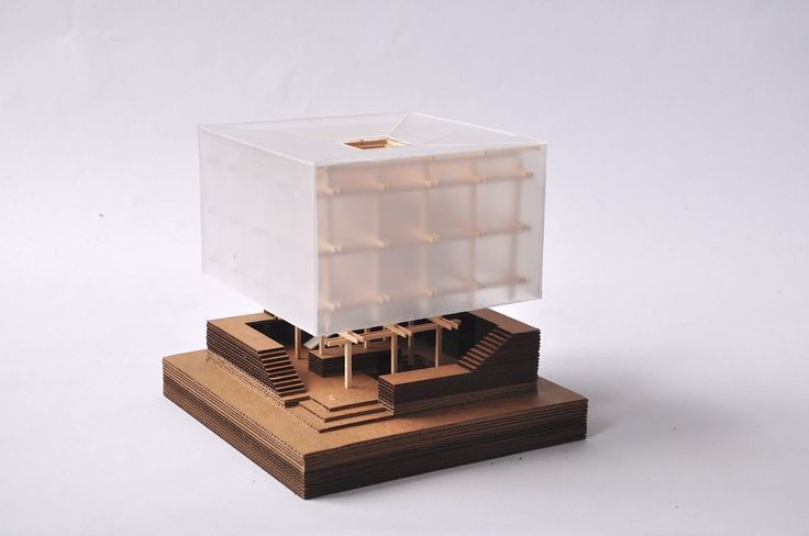 Nest We Grow - Kengo Kuma, architectural model / maquette / model