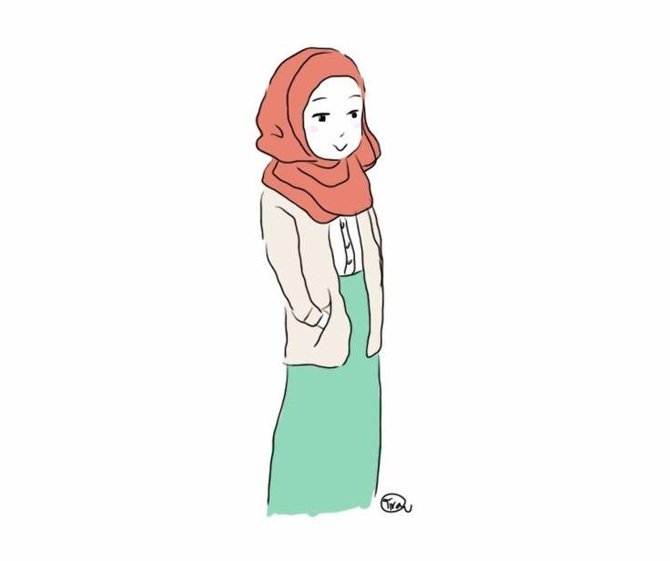 hijab drawing - Google Search