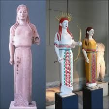GREEK STATUES PAINTED - Google Search