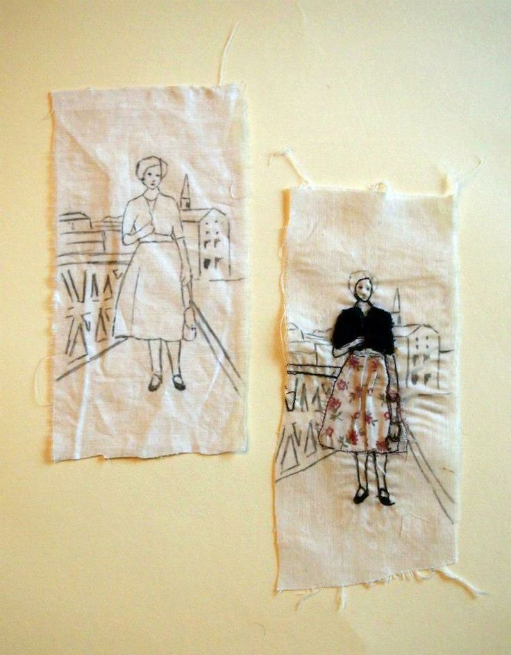 Best fabric journals books images on pinterest