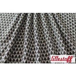 lillestoff » Jacquard Triangle, dark olive « // Design: SUSAlabim // hier erhältlich: http://www.lillestoff.com/jacquardtriangledarkolive.html