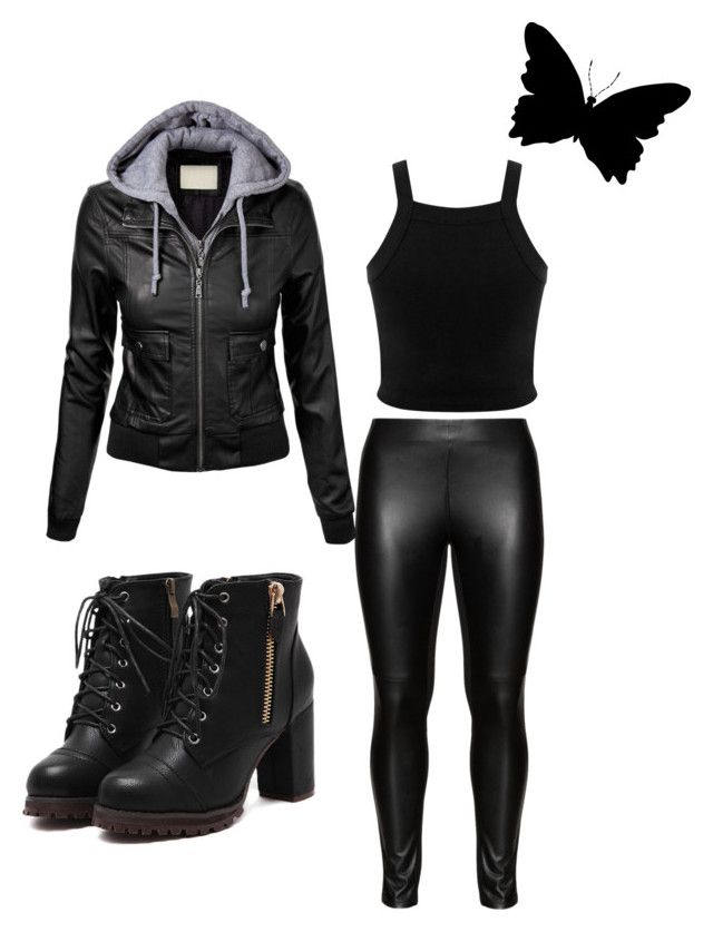 """underworld, selene"" by karoline-yasmine-linge-iversen on Polyvore featuring Miss Selfridge and Studio"