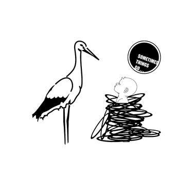 "Saatchi Art Artist Miroslav Škařupa; New Media, ""SOMETIMES THINGS GO ..."" #art"
