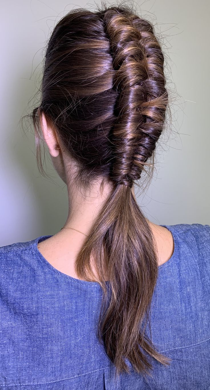 Braid Infinity Master Mohawk It S Not Just Called An Infinitybraid Because You Could Watch It Foreve Hair Styles Braided Hairstyles Competition Hair
