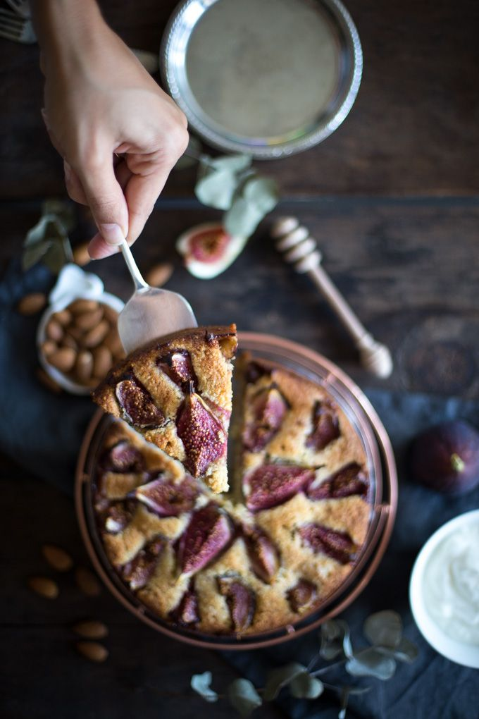 Ottolenghi's Fig Almond Cake