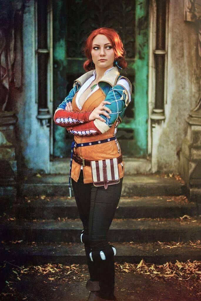 Triss Merigold, the wicther series. Cosplay by Santatory https://www.facebook.com/SantatoryCosplay Photography by  Starbit Photography  https://www.facebook.com/starbitphotography/?fref=ts