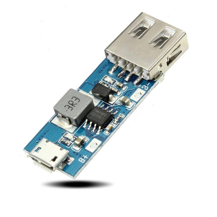 Modulo De Impulso Dc Dc 3v 3 3v 3 7v 4 2v A 5v1a Tarjeta De Carga Movil Usb Usb Boosting Mobile