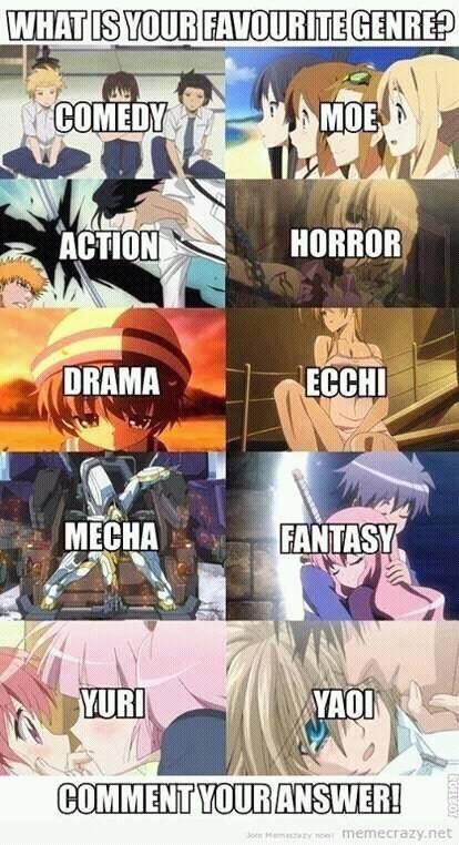 I think the genre that I like doesn't exist yet :D #anime #memes #funny #manga
