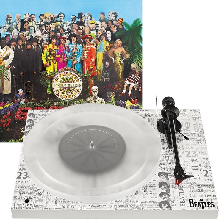 Resultado de imagen para Pro-Ject The Beatles Sgt. Pepper's Lonely Hearts Club Band""