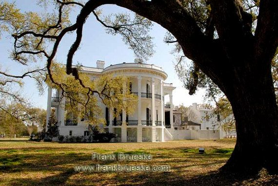 Nottoway Plantation Home Plantation Homes by FrankBrueskePhotos