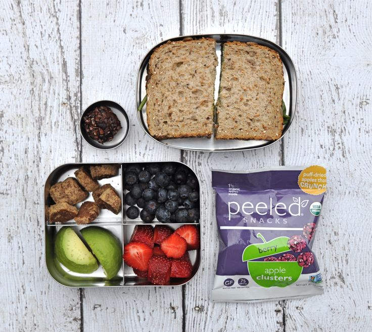 Vegan kids' lunch ideas