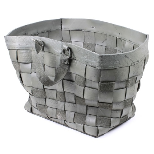 $59,37 - Grey rubber basket #vtwonen #collection