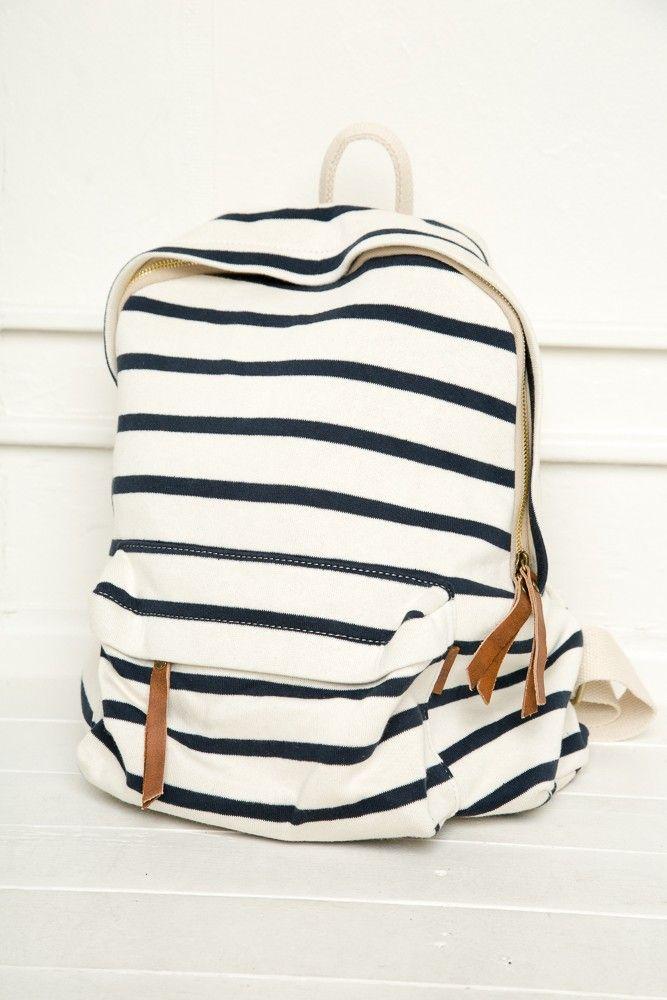 Follow me // sophiekate... ℓσνєѕ ღ #JohnGalt #Backpack #striped - Accessories