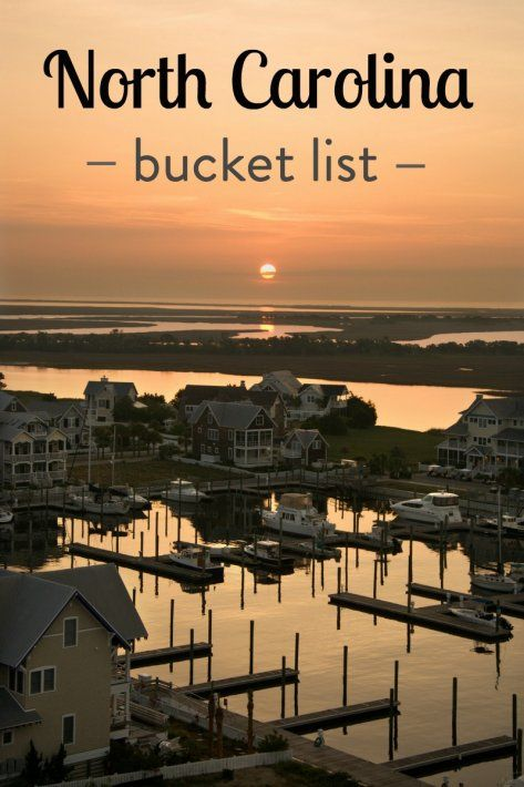 Our things to do in North Carolina bucket list