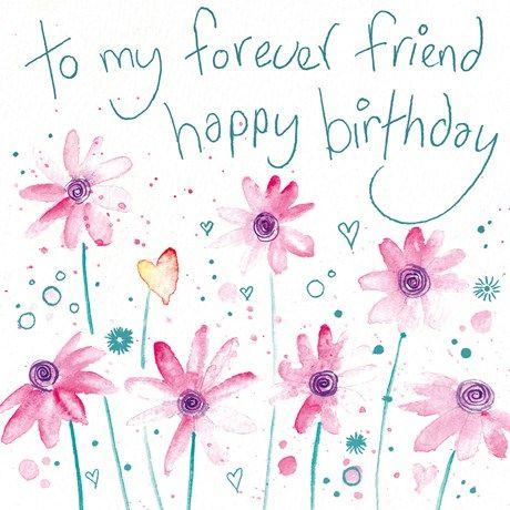 To My Forever Friend Happy Birthday - Card Cover