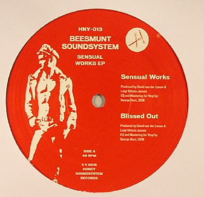 The artwork for the vinyl release of: Beesmunt Soundsystem - Sensual Works EP (Honey Soundsystem) #music Techno