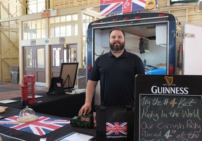 Cornish Pasty at Landsdowne Farmer's Market