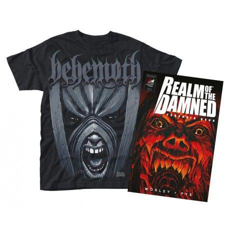 Realm of the Damned - Behemoth (carte+tricou)