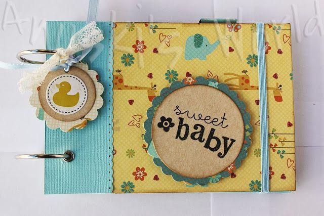 1000 images about album on pinterest baby shower themes - Como decorar un album de fotos ...