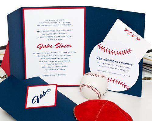 119 best baseball bar mitzvah images on pinterest baseball party sport theme bar mitzvah invitations google search solutioingenieria Choice Image