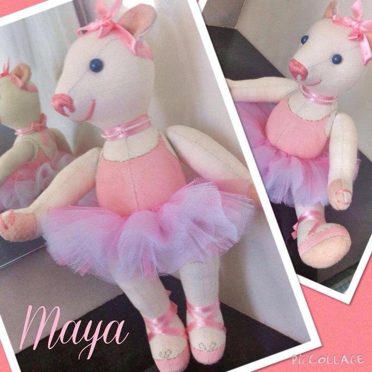 Teddy bear ballerina MAYA