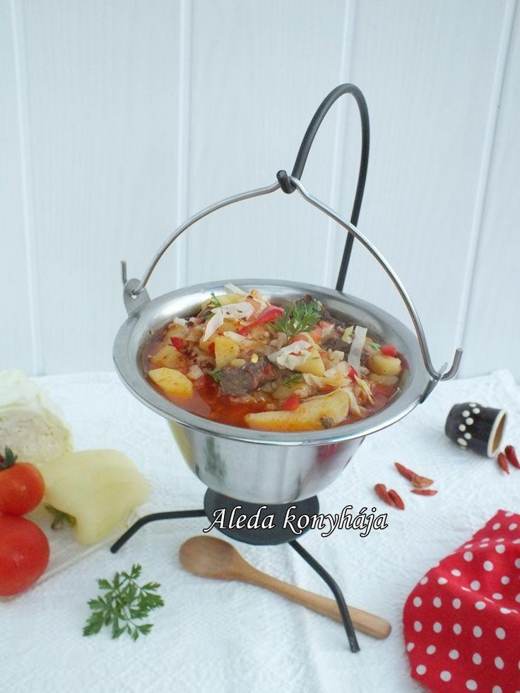 Aleda konyhája: Kolozsvári gulyás
