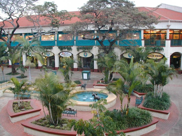 Shopping Mall in Harare, Zimbabwe. I used to hang out here as a teenager. SO many memories.
