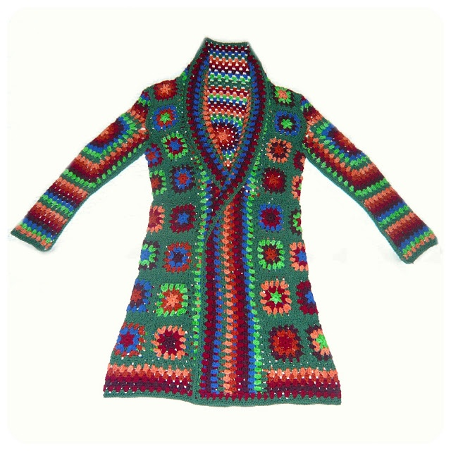 Shara Lambeth Designs: Crochet Jacket Extraordinaire!