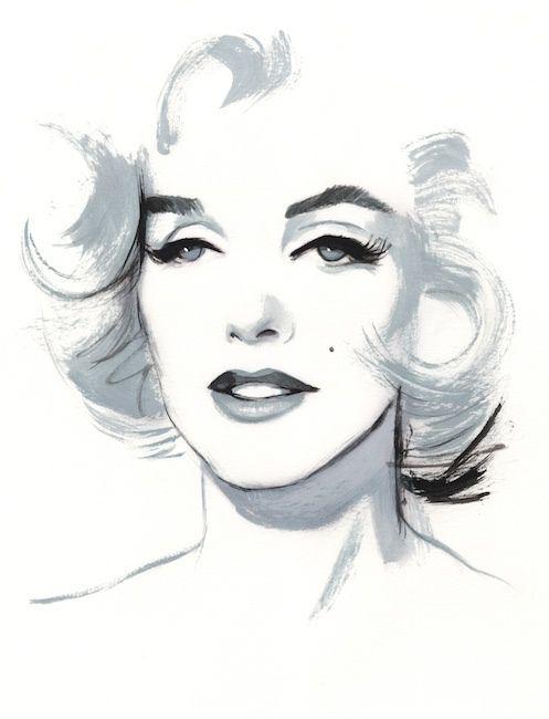 Portraits II by Fernando Vicente, via Behance♥