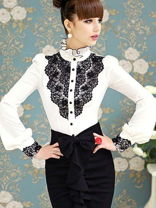 декор женской белой рубашки с длинным рукавом: 20 тыс изображений найдено в Яндекс.Картинках