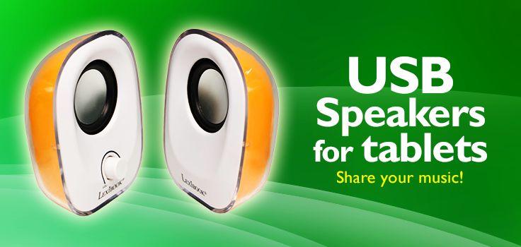 #USB #Speakers for #tablets - #Lexibook