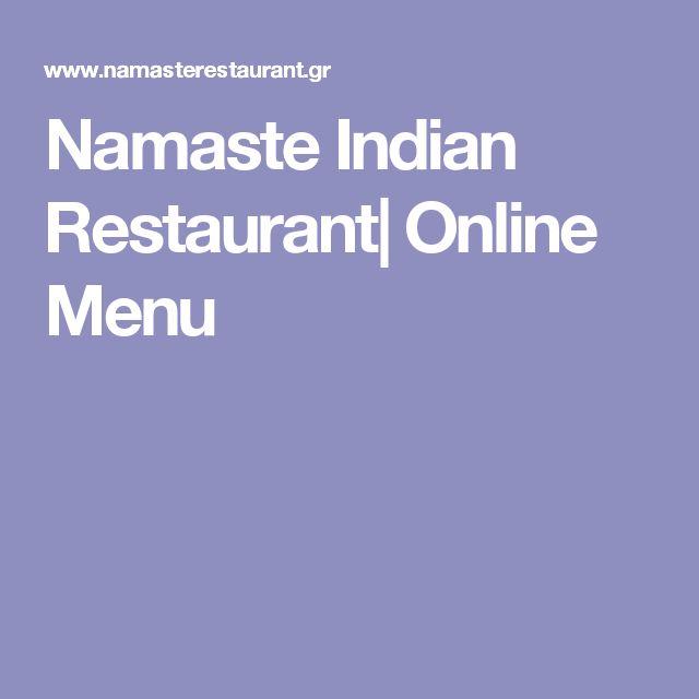 Namaste Indian Restaurant| Online Menu