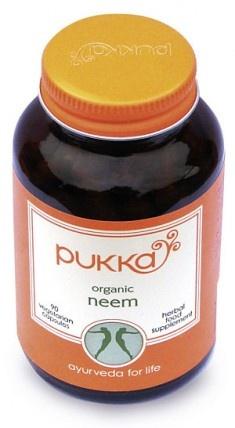 Organic Neem capsules boost the immune system like crazy!