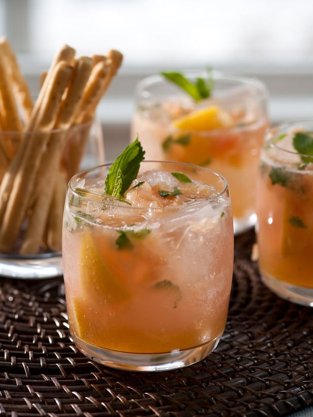 10 Mocktail Recipes: Virgin Grapefruit Mojito, Spicy Raspberry Lemon Cooler, Mango Mock-o-lada, Virgin Garden Mary, Virgin Hibiscus Cosmopolitan, Creamsicle Punch, Sparkling Sunshine Punch, Cantaloupe-Ginger Spritzer, Pom-Berry Bellini, Mexican Chocolate Mock-tini