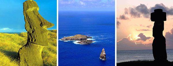 Isla de Pascua - Fotos: 1 Corp.Promoción Turística  Chile / 2 y 3 Cámara Turismo Isla de Pascua