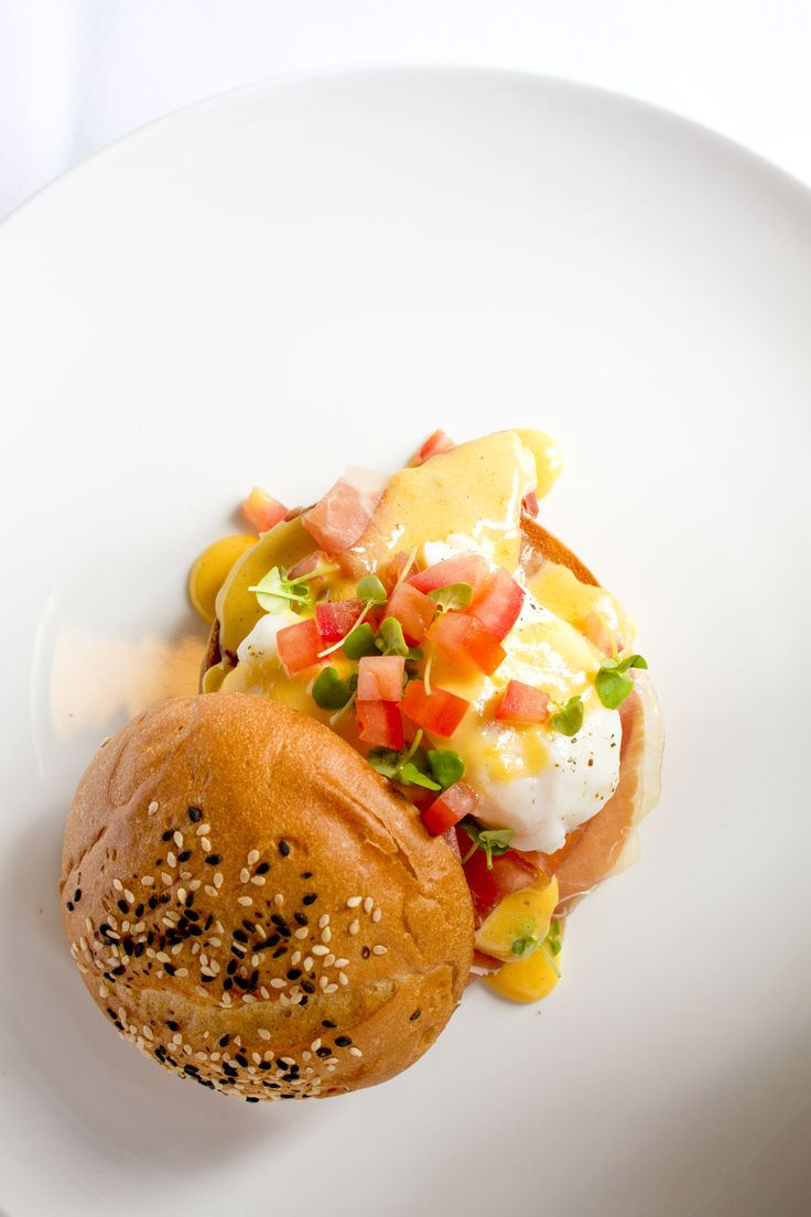 Breakfast, the most important meal of the day!! Eggs Benedict delicious @ Baroque Bistro