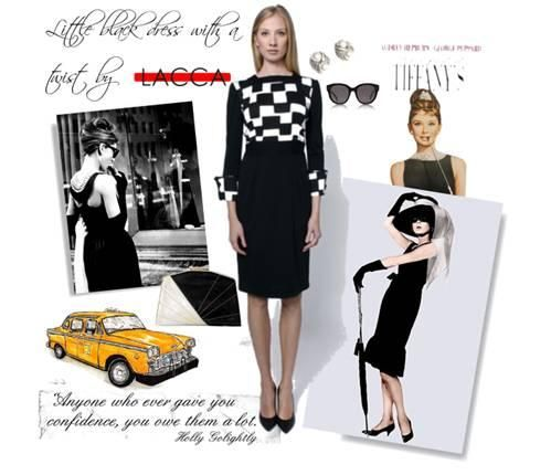 Little black dress is a perfect choice for every occasion. Here is the LACCA version of it: http://bit.ly/1CTRNSy