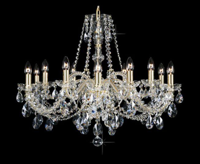 Crystalhome - Boheems kristallen luchters en kroonluchters - Lustres en cristal - Chandeliers, lighting in Bohemian crystal