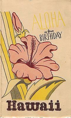 68 best hawaiian birthday greetings images on pinterest birthdays aloha on your birthday vintage wwii hawaiian graphic greetings card from soldier m4hsunfo