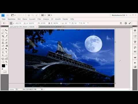 ▶ Den Tag zur Nacht machen - Die Photoshop-Profis - Folge 1 - YouTube