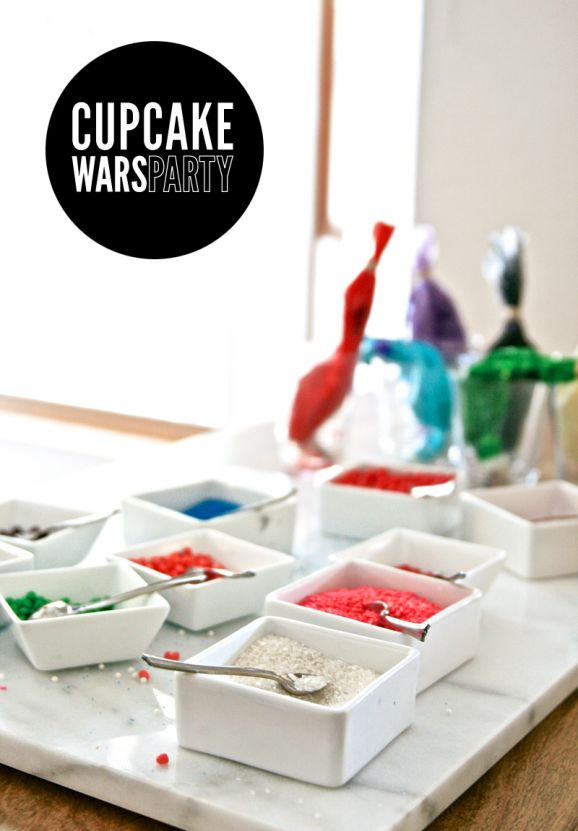 How to Host a Cupcake Wars Party at PagingSupermom.com