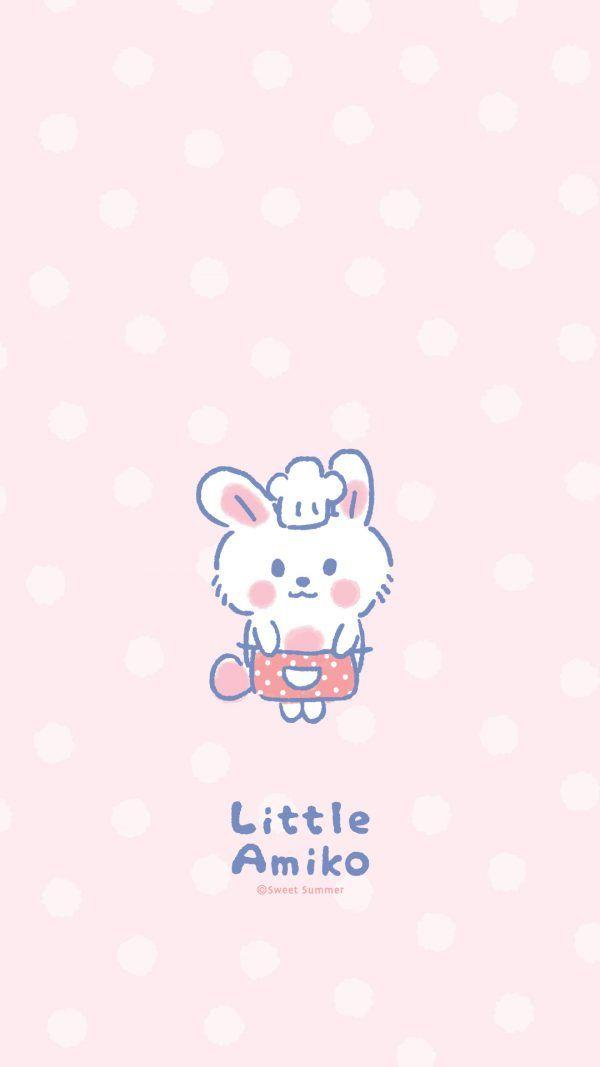 Little Amiko Sweet Summer Stationery Gift Panda Artwork Kawaii Wallpaper Cute Backgrounds