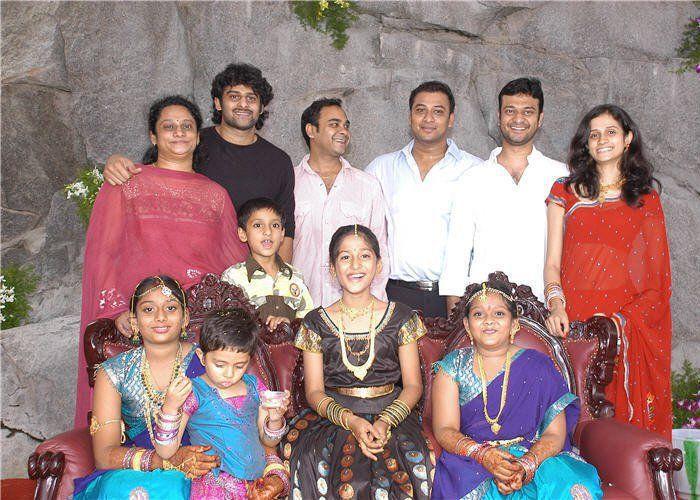 Prabhas family