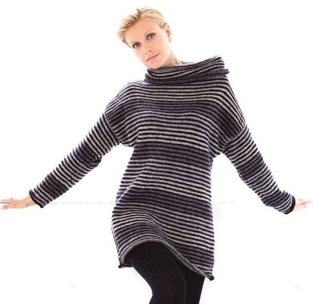 Платье-туника из альпаки