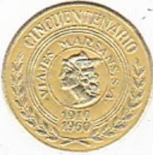 SPAIN VIAJES MARSANS CINCUENTENARIO 1910-1960 VINTAGE - bidStart (item 34343515 in Collectibles & Ephemera... Labels)