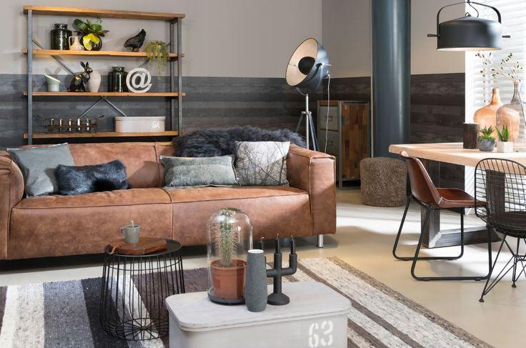 Meer dan 1000 idee n over industrieel decor op pinterest industrieel vintage industri le - Interieur industriele stijl decoratie ...