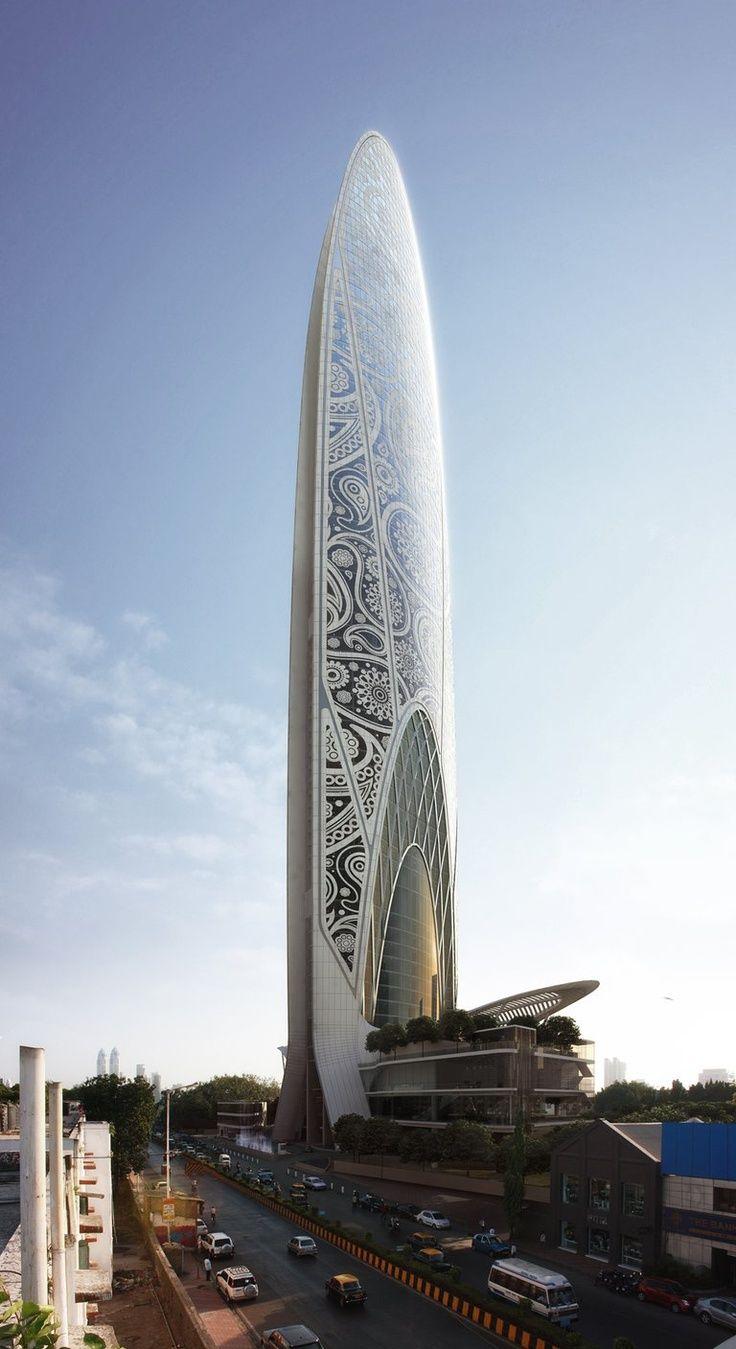 Namaste Tower - Mumbai, India. EDIFICIOS rascacielos  edificios                                                                                                                                                     Más