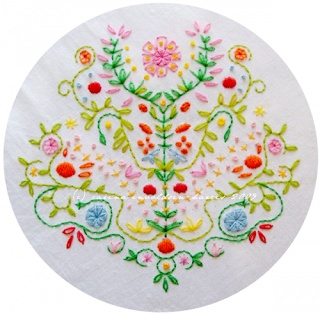 Simple Virtues: Scandinavian Embroidery Luv