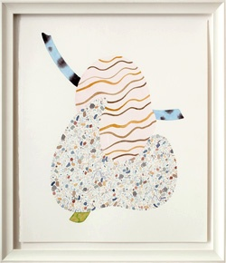 Amber Wilson, Willendorf Inlay, 2011, Watercolour on paper