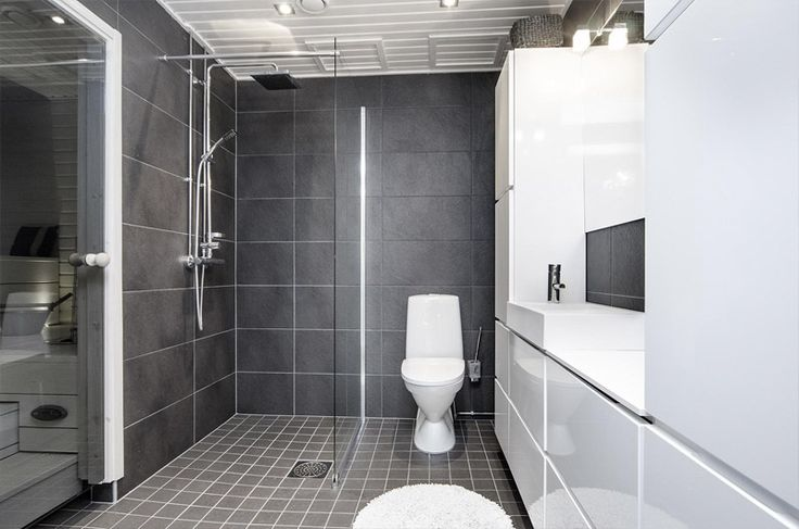 harmaa kylpyhuone - Google-haku